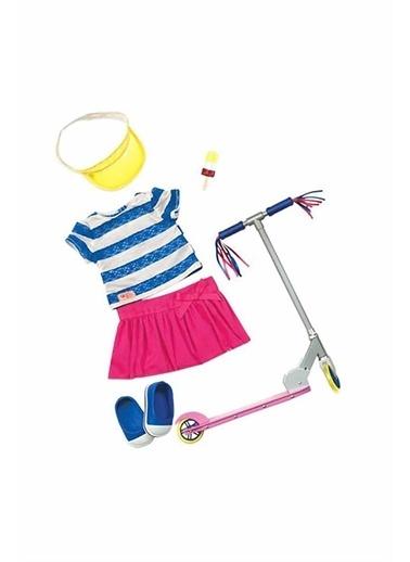 Our Generation Our Generation Scooter Oyuncak Bebek Kıyafeti Seti Renkli